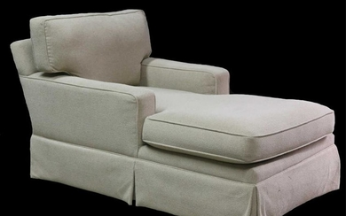 LIZ CLAIBORNE CUSTOM UPOLSTERED CHAISE LOUNGE