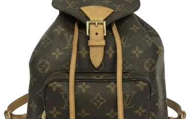 LOUIS VUITTON MONTSOURIS BACKPACK SHOULDER BAG