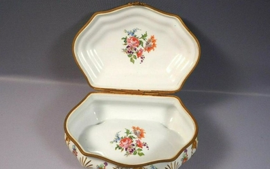 Magnificent Antique Sevres French Porcelain Jewel