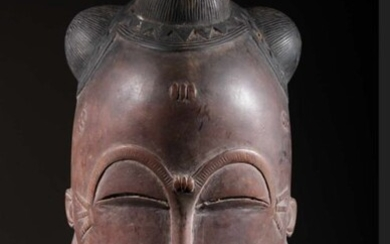 Mask - Wood - Baoulé - Ivory Coast