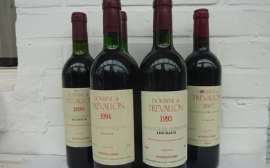 "Mixed lot -Mixed lot of Domaine de Trévallon ""Les Baux"" Coteaux d'Aix en Provence - Provence - 6 Bottle (0.75L)"