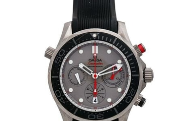 "OMEGA Seamaster Diver 300M Co-Axial Chronograph ""ETNZ"", Ref. 212.92.44.50.99.001. Herrenuhr."