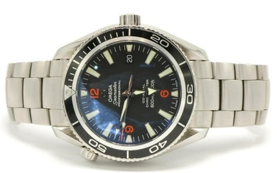"Omega ""Planet Ocean"" Seamaster Stainless Watch"