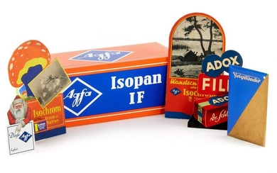 Selection of Display Advertising (Agfa, Voigtländer
