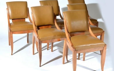 Set of 6 Modern Side Chairs, c. 1970's