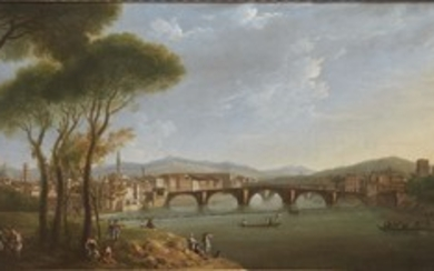Thomas Patch (Exeter, 1725 – Firenze, 1782) L'ARNO DALLE...