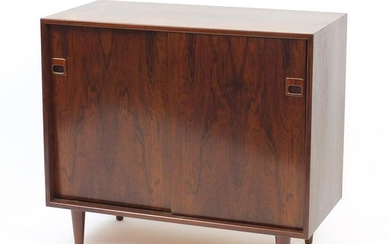 Vintage Danish rosewood side cabinet by Dyrlund with
