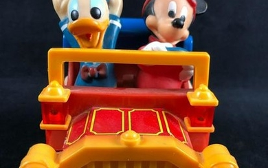 Vintage Walt Disney Mickey Mouse and Donald Duck Toy