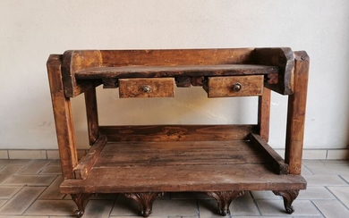 Work table - Walnut - 19th century and later