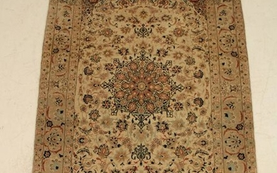 """3'5"""" X 4'10"""" FINE WOVEN PERSIAN SCATTER RUG"""
