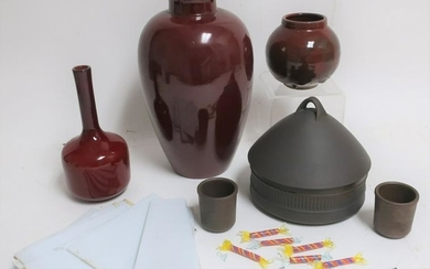6 Contemporary Ceramic & Glass Items