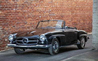 A 1961 Mercedes-Benz 190SL Convertible