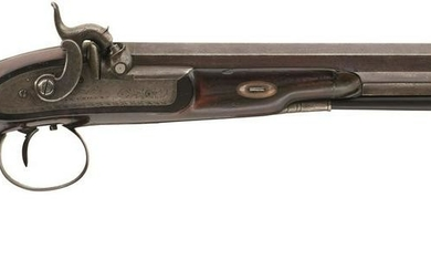 A 40-BORE PERCUSSION DUELLING OR OFFICER'S PISTOL BY