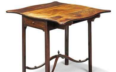A GEORGE III MAHOGANY PEMBROKE TABLE, CIRCA 1760
