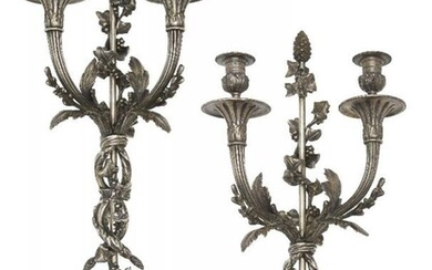 A pair of French Louis XVI style...
