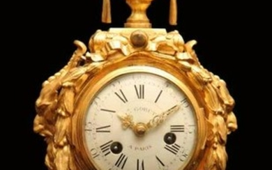 ANTIQUE FRENCH LOUIS XVI ORMOLU (GOLD PLATED BRONZE)