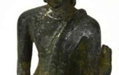 Antique South East Asian Bronze Standing Buddha