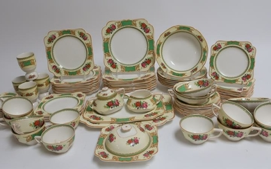 Assorted Crown Ducal Partial Lunch/Dinner Service
