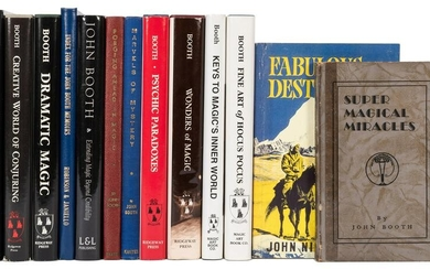 Booth, John. Collection of Autographed Works of John