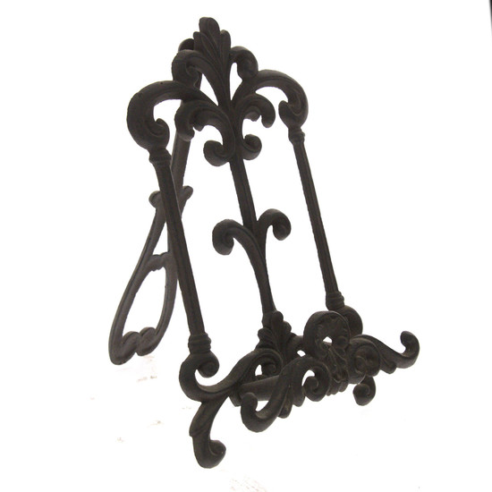 Cast Iron Book Stand.