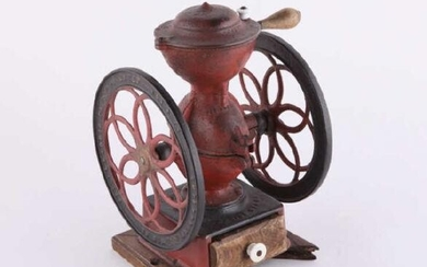 Cast Iron Coffee Grinder, Philadelphia, 19th C.