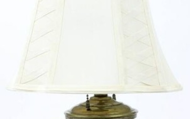 Chinese Figural Brass Censor Lamp