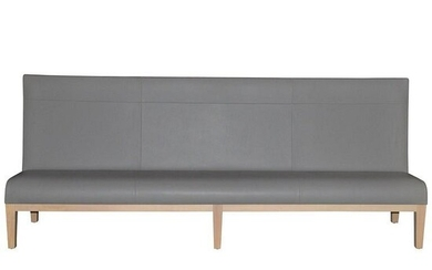 Christian Liaigre Large Modern Leather Banquette