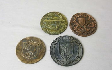 Collection of 4 Bronze Army Medals