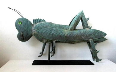 Early Grasshopper Weathervane