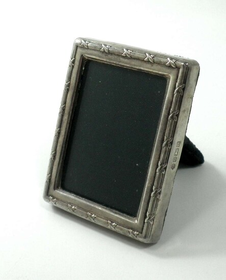 Frame for a Small Picture Coated in English 925 Sterling Silver Plaque made by R. Carr Ltd