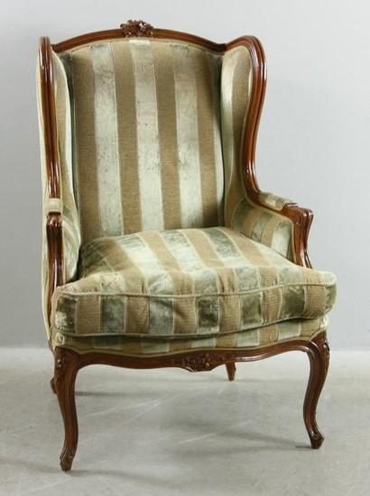 French Style Wing Chair