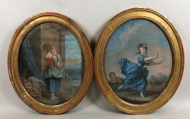 French school late 18th, early 19th century. Chivalrous...