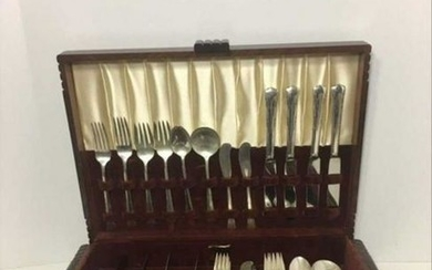 Gorham Sterling Set 8 Service Sets 48 Pcs. Stamped