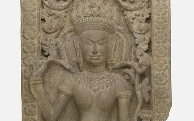 Khmer Style, Apsara relief