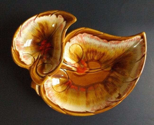 Maurice California Chip Dip Serving Dish 1960s Pottery