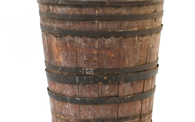 OVERSIZED 18TH/19TH C. COUNTRY BARREL
