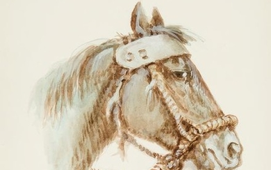 Olaf Wieghorst | Horse with Fancy Bridle