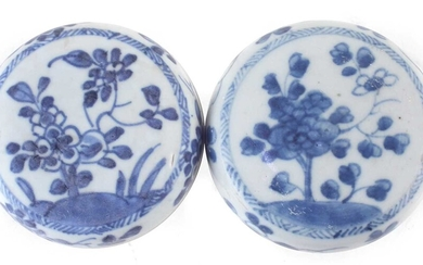 Pair of Chinese Ca Mau cargo lidded boxes circa 1730