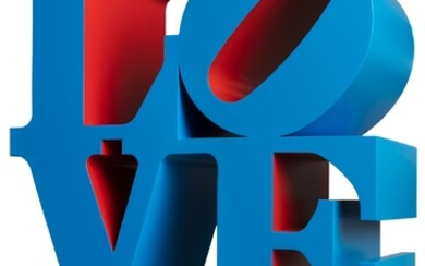 Robert Indiana (1928-2018), LOVE (Blue/Red)