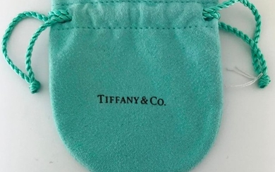TIFFANY & co, 925°/°° silver ring in pouch,...