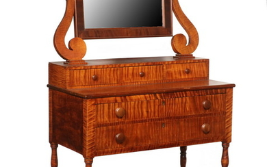 TIGER MAPLE DRESSING TABLE