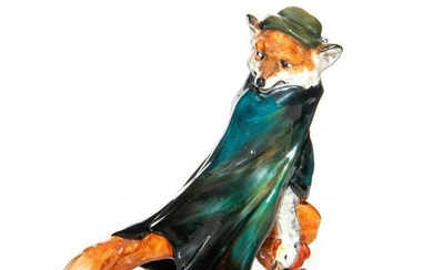 VERY RARE DOULTON CHARACTER FOX WITH STOLEN GOOSE