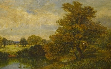 Walter H W Foster (fl.1861-1888). In the Betchworth Meadows ...
