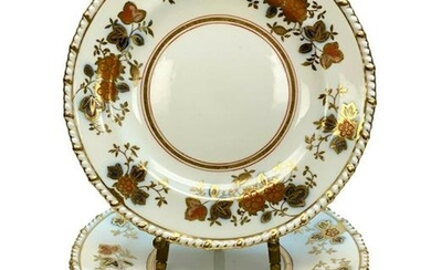 12 Royal Crown Derby for Tiffany Bread & Butter Plates