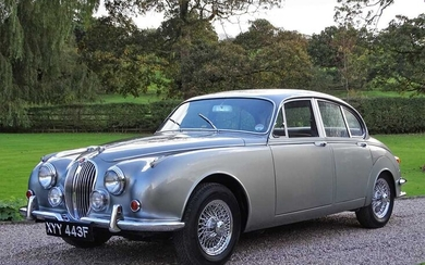 1968 Jaguar 240 Rare, Eire-supplied example