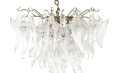 A Camer Murano Glass Chandelier