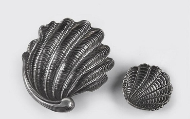 A Gianmaria Buccellati Sterling Silver Shell Form Dish.