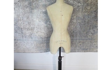 A Jack Wills ladies mannequin on adjustable stand - size 35