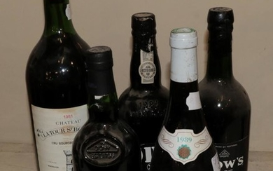 A mixed parcel of wine comprising: Dow's 1966 Vintage Port...