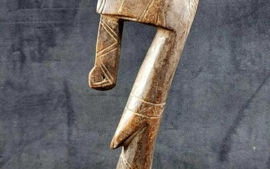 African Abstract Figure Sculpture